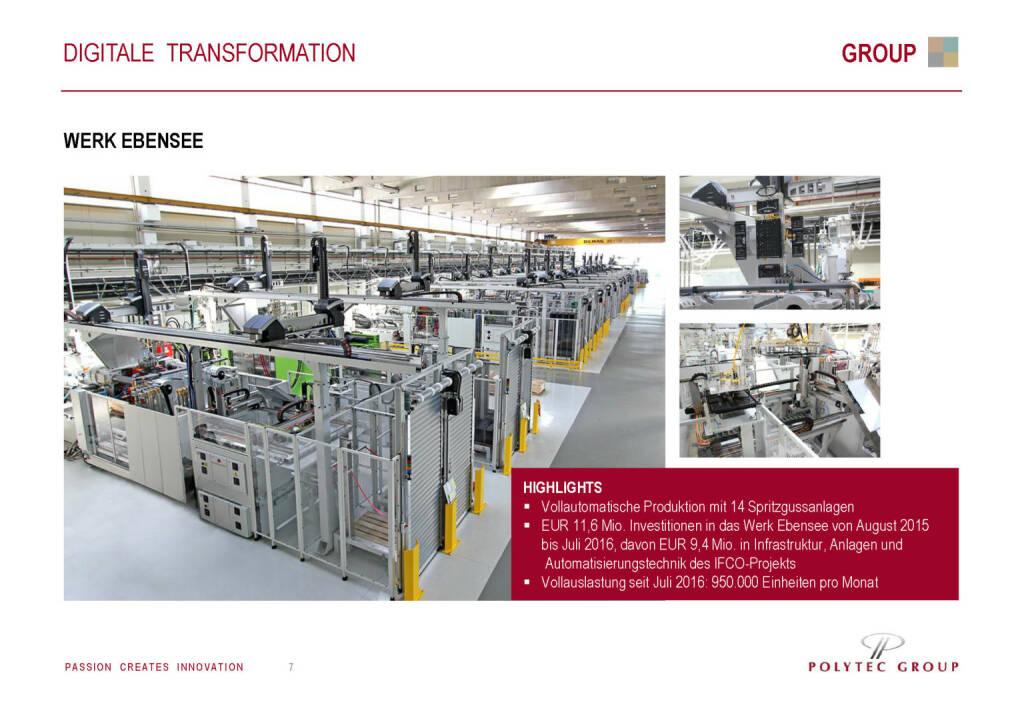 Polytec - Digitale Transformation (30.05.2017)