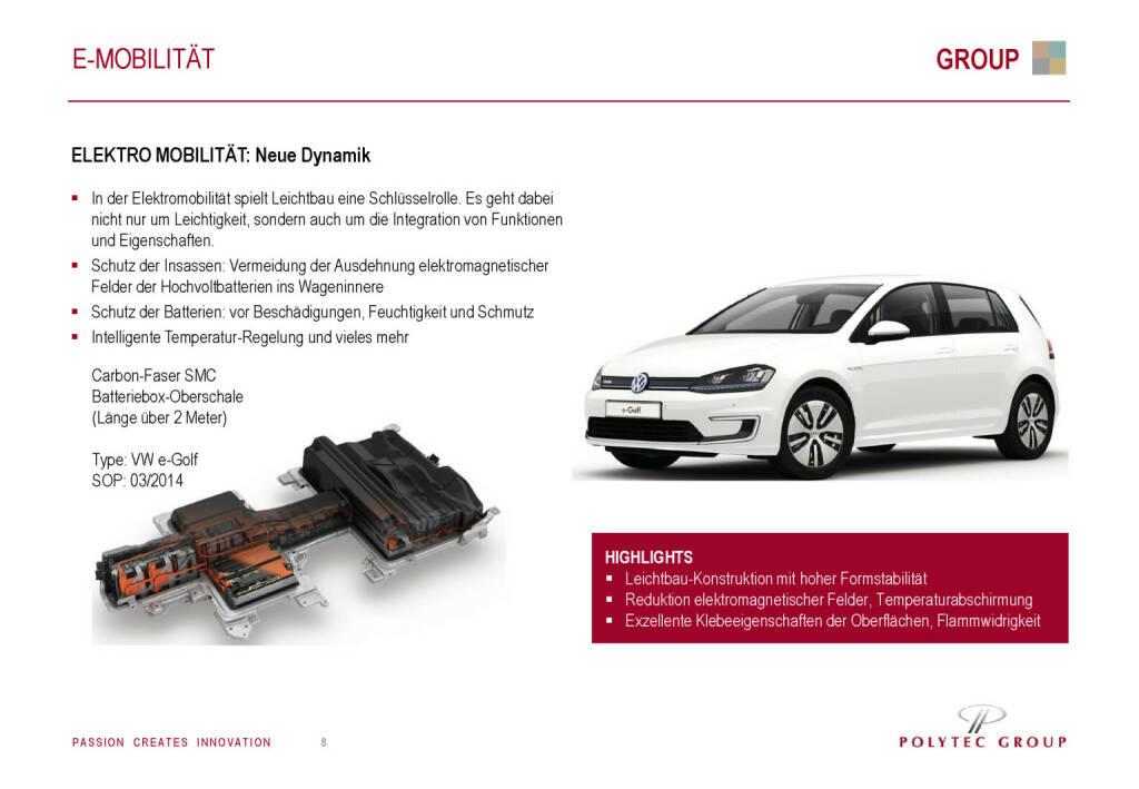 Polytec - E-Mobilität (30.05.2017)