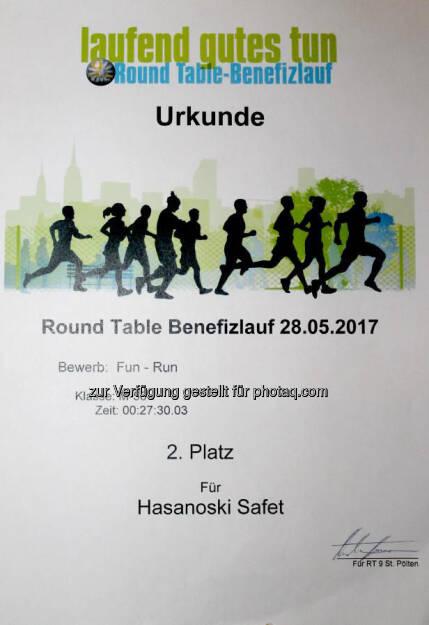 Urkunde (30.05.2017)