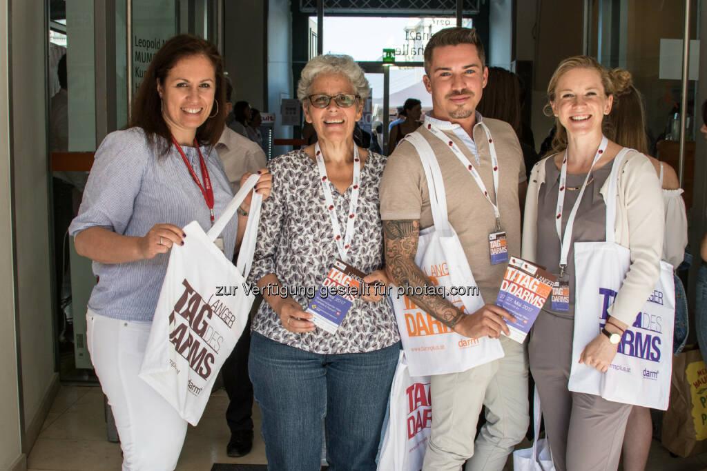 Langer tag des Darms 2017 - darm plus - CED Initiative Österreich: Der Lange Tag des Darms 2017 (Fotocredit: Welldone/Oreste Schaller), © Aussender (01.06.2017)