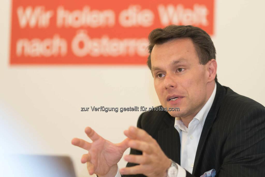 Wiener Börse-CEO Christoph Boschan (Fotocredit: APA-Fotoservice) (01.06.2017)