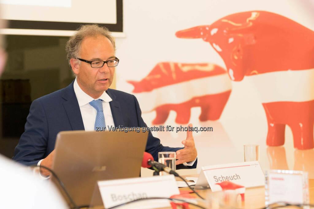 Wienerberger-CEO Heimo Scheuch (Fotocredit: APA-Fotoservice) (01.06.2017)