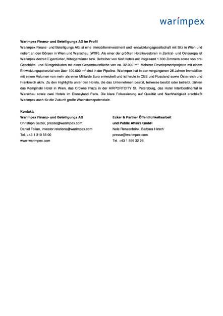 Warimpex schließt Verkauf von acht Hotels ab, Seite 3/3, komplettes Dokument unter http://boerse-social.com/static/uploads/file_2275_warimpex_schliesst_verkauf_von_acht_hotels_ab.pdf (01.06.2017)