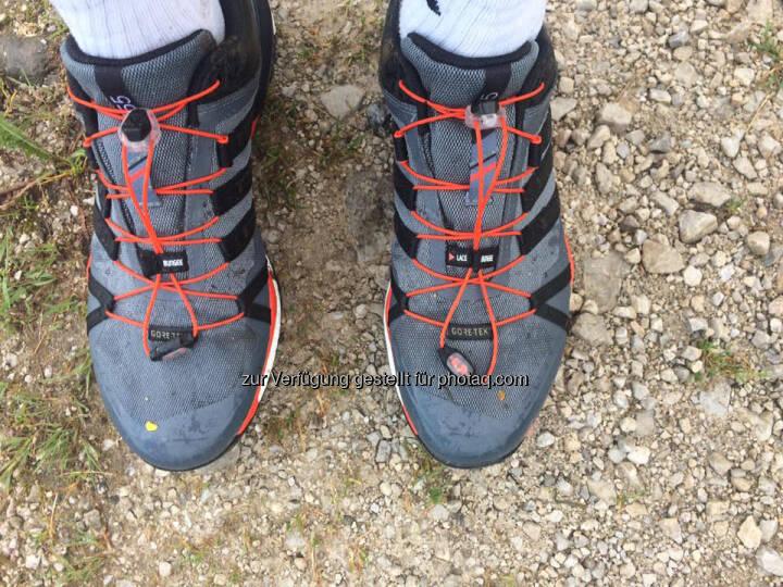 Schuhe, Füße, Fuß, Trail, adidas