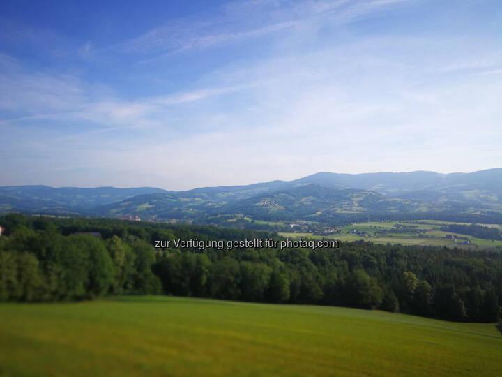 Landschaft, Aussicht
