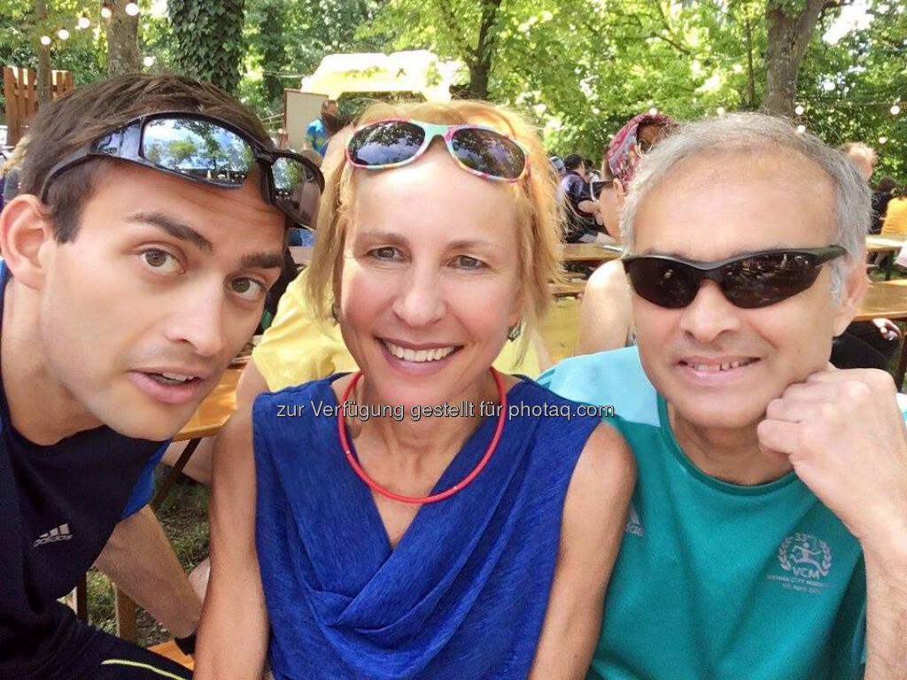 Michael Riedler, Oksana Polianskaja und Safet Hasanoski (06.06.2017)
