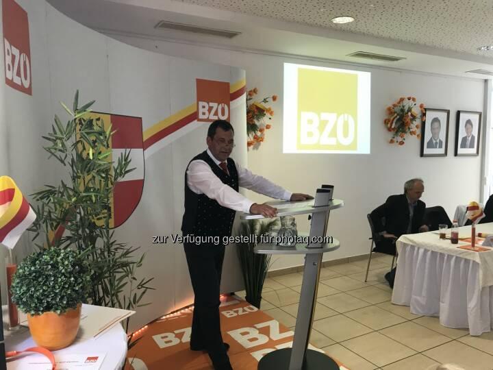 BZÖ-Kärnten Landesobmann Helmut Nikel - Bündnis Zukunft Österreich - BZÖ: Grafensteiner Gemeindevorstand Nikel neuer Obmann des BZÖ-Kärnten! (Fotocredit: BZÖ Kärnten)