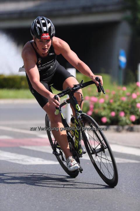 Tanja Stroschneider, Tulln Tri, Radfahren