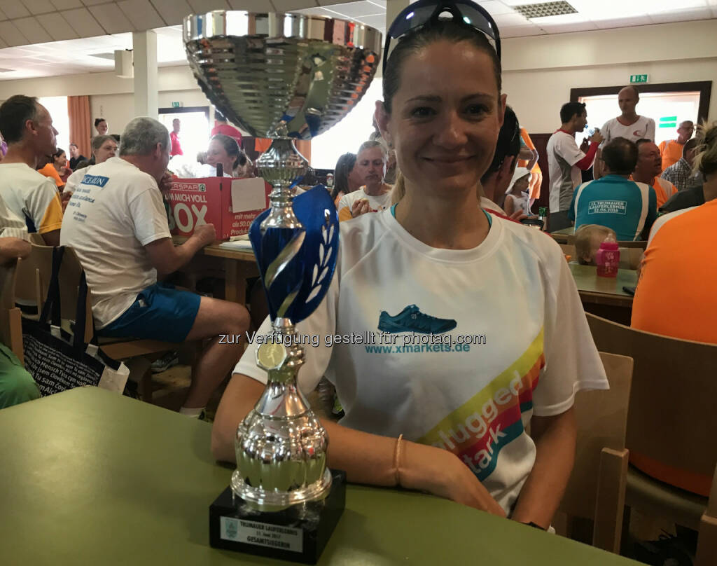 Damensiegerin Diana Berisha (11.06.2017)