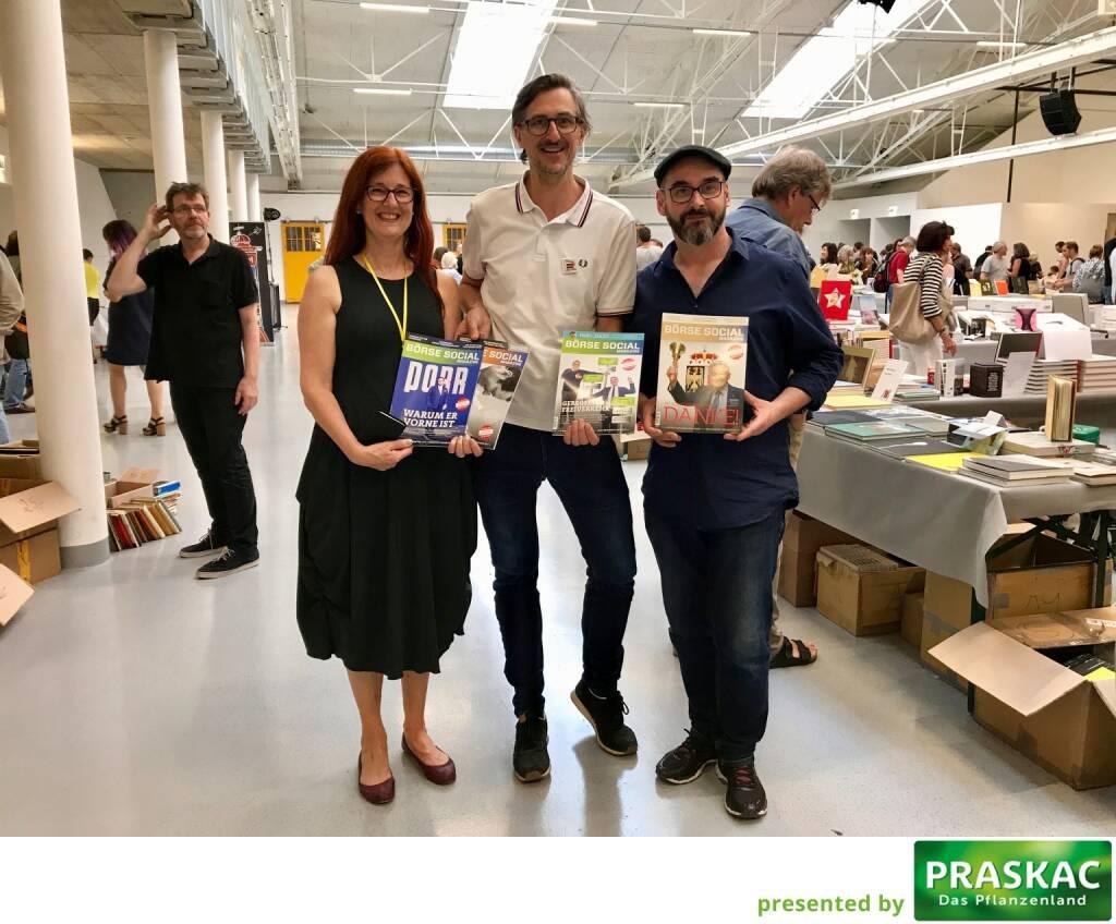 Magazin goes ViennaPhotoBookFestival (Festivaldirektion/Leitung) - Regina Anzenberger (AnzenbergerGallery), Josef Chladek (BSN), Michael Kollmann (OstLicht) (12.06.2017)