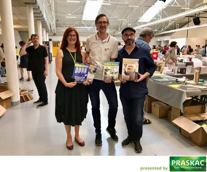 Magazin goes ViennaPhotoBookFestival (Festivaldirektion/Leitung) - Regina Anzenberger (AnzenbergerGallery), Josef Chladek (BSN), Michael Kollmann (OstLicht)