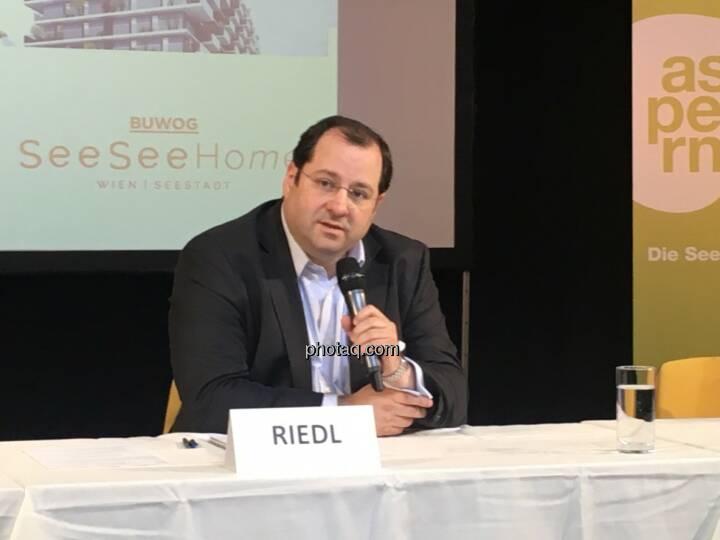Buwog CEO Daniel Riedl