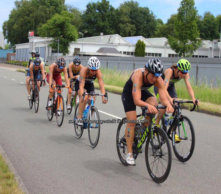 Tanja Stroschneider, Triathlon, Rad, Spitze, Führung, leader