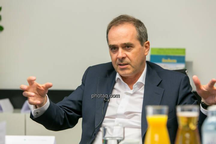 Wolfgang Matejka (CIO Wiener Privatbank und Fondsmanager bzw. Geschäftsführer Matejka & Partner Asset Management) - (Fotocredit: Martina Draper)
