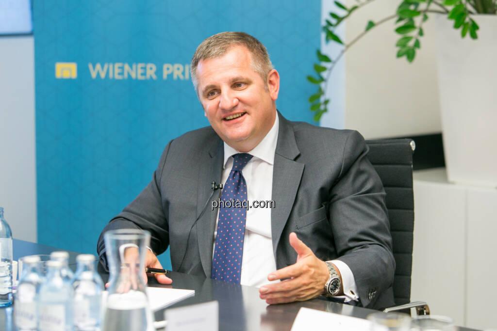 Eduard Berger (Vorstand Wiener Privatbank) - (Fotocredit: Martina Draper) (14.06.2017)