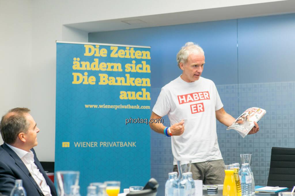 Wolfgang Matejka - Christian Drastil (Herausgeber Börse Social Magazine) - (Fotocredit: Martina Draper) (14.06.2017)