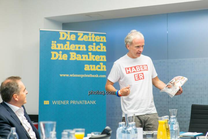 Wolfgang Matejka - Christian Drastil (Herausgeber Börse Social Magazine) - (Fotocredit: Martina Draper)