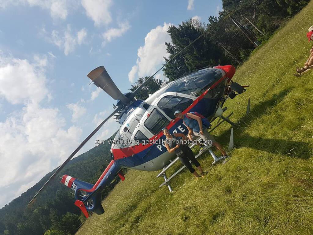 Polizei, Hubschrauber (15.06.2017)
