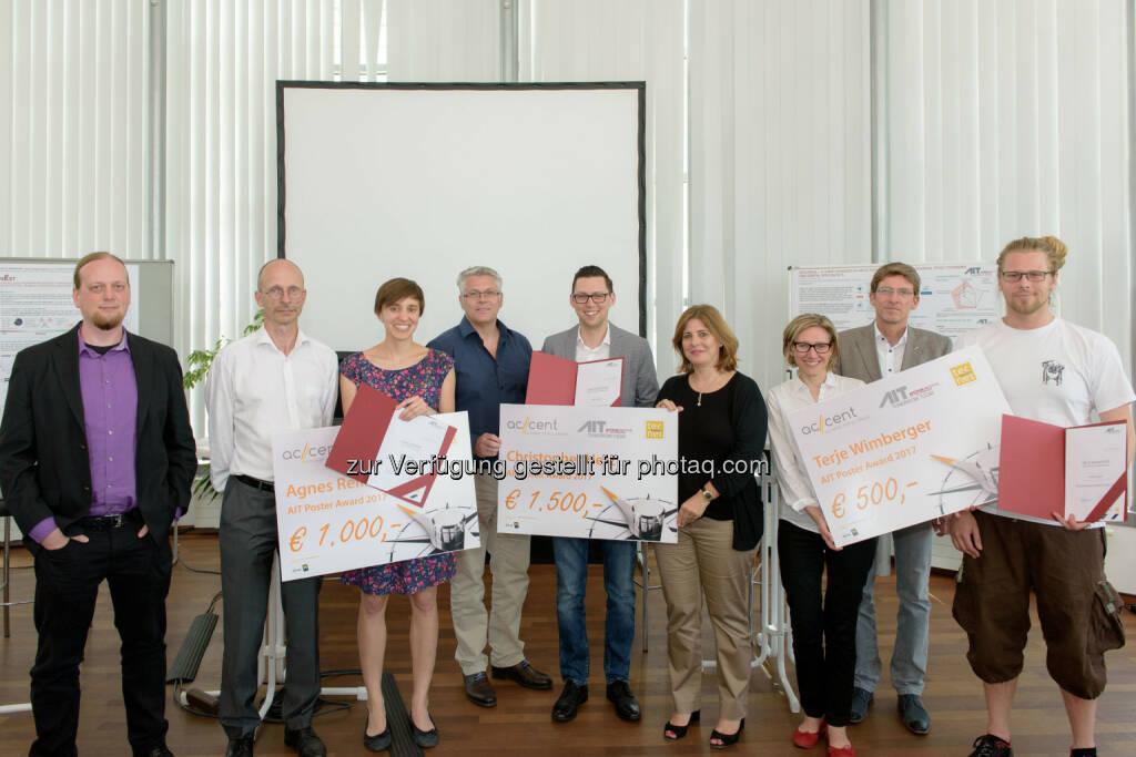 AIT Austrian Institute of Technology GmbH: GewinnerInnen des AIT Poster Awards 2017 stehen fest (Fotocredit: AIT / Raimund Appel), © Aussendung (16.06.2017)