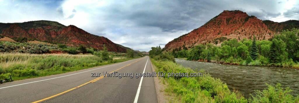 Colorado, Straße, Weite, weit, offen (17.06.2017)