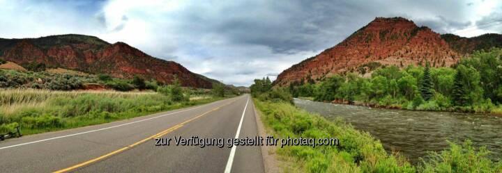 Colorado, Straße, Weite, weit, offen