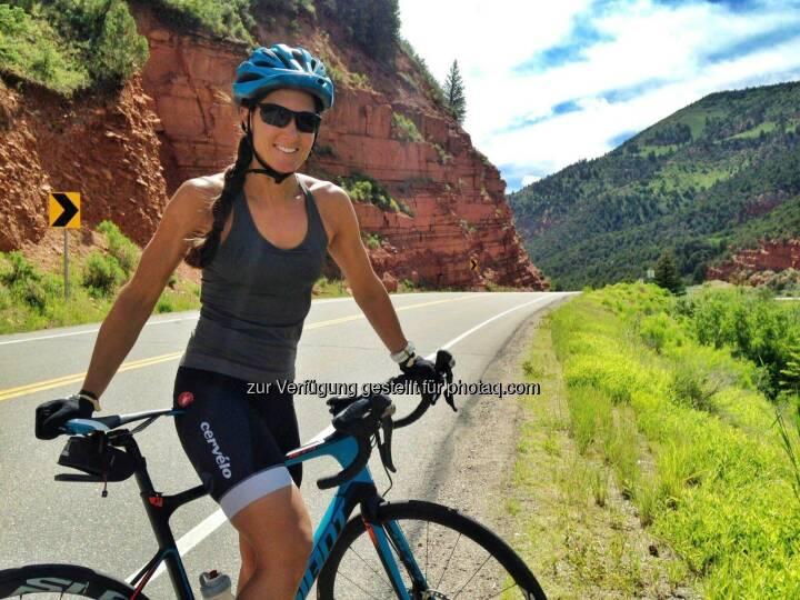 Monika Kalbacher, Rad, Colorado, USA