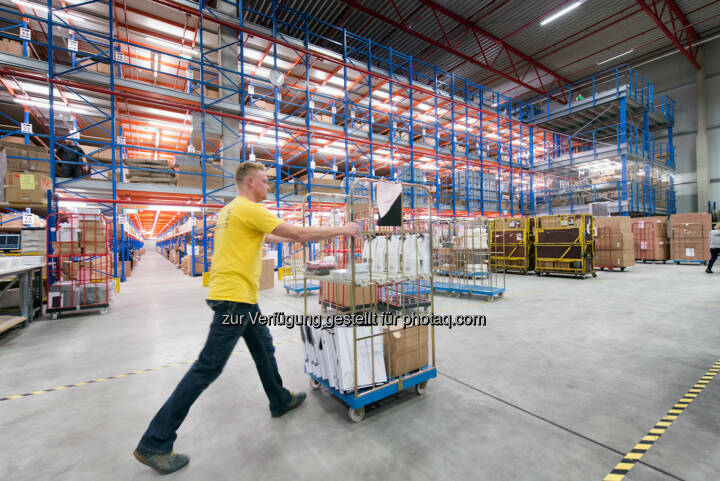 Mit einer Lagerfläche von 80.000 m2 und damit Europas größtem ITK Logistikzentrum, punktet Ingram Micro mit einer besonders hohen Verfügbarkeit der Ware - Ingram Micro Österreich: mySodapop setzt auf One-Stop-Shop (Fotocredit: Ingram Micro)