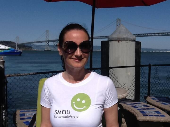 San Francisco Smeil! Kathrin Leiter, Kleine Zeitung