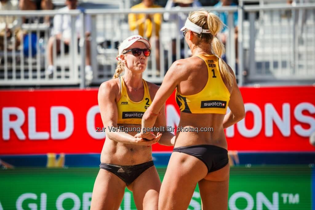 Margareta Kozuch und Borger Karla - Beach Majors GmbH: Teilnehmerfeld für die FIVB Beach Volleyball WM 2017 komplett (Fotograf: Dave McMahan / Fotocredit: Beach Majors), © Aussender (23.06.2017)
