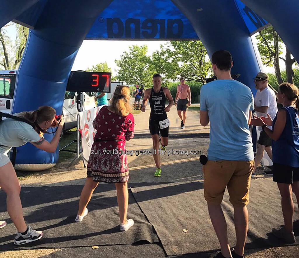 Tanja Stroschneider, Zieleinlauf, © Tanja Stroschneider (24.06.2017)