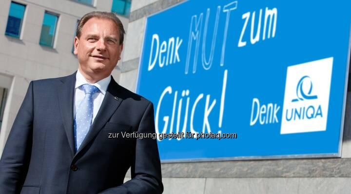 Hans Christian Schwarz, Landesdirektor Uniqa Oberösterreich - Uniqa Insurance Group AG: Uniqa Oberösterreich ist klare Nummer eins im Bundesland (Bild: R. Haidinger)
