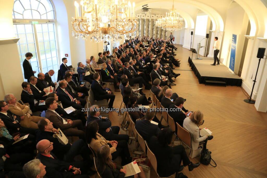 Erster Vienna Start Up Moonshot - Ein spektakuläres Veranstaltungsformat will in nur 72 Stunden aus einer Start Up Idee ein fertiges Unternehmen erschaffen - mit dem Anspruch, am Weltmarkt erfolgreich zu sein. (Bild: Krisztian Juhasz/Österr. Wirtschaftsverlag) (30.06.2017)