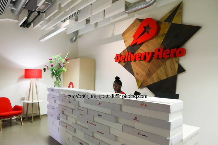 Delivery Hero Front Desk (Bild: Delivery Hero)