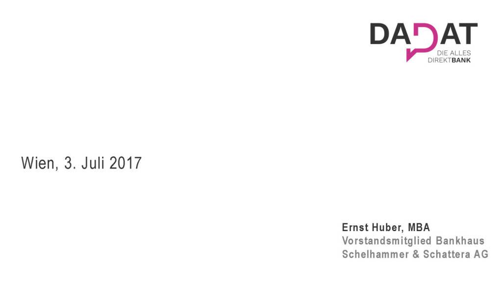 Präsentation dad.at - Ernst Huber (02.07.2017)
