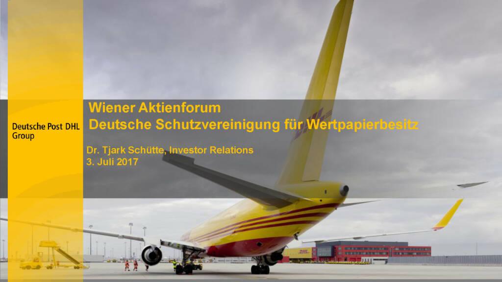 Präsentation Deutsche Post (02.07.2017)
