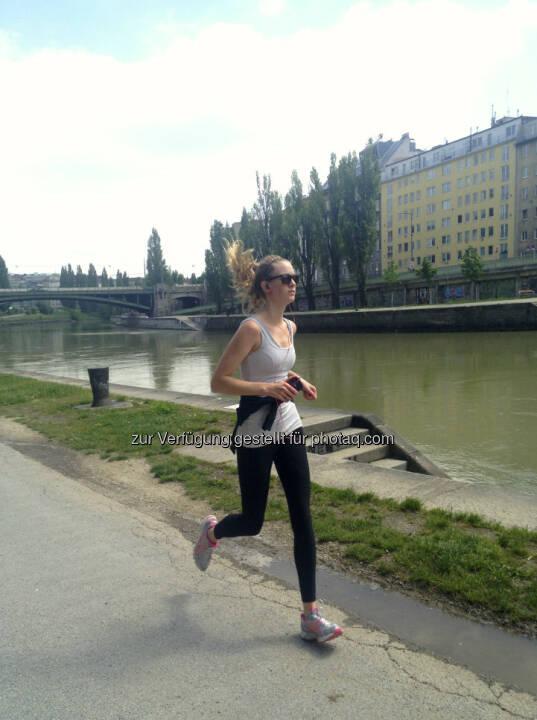 Laufen Donaukanal