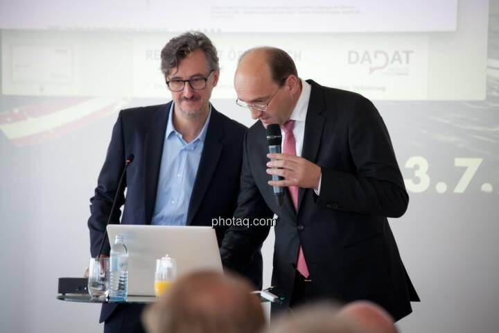 Josef Chladek (BSN), Ernst Huber (dad.at Bank)