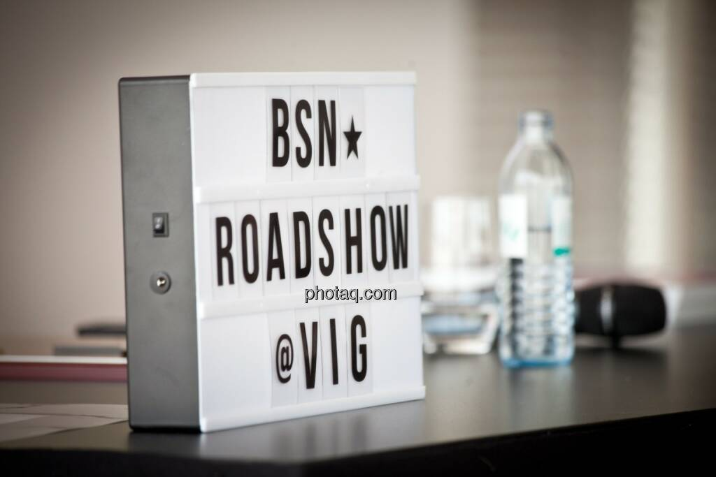 BSN-Roadshow macht Station im VIG-Headquarter Ringturm, © Michaela Mejta (04.07.2017)