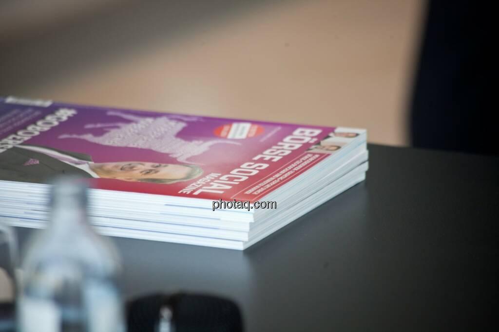 Börse Social Magazine gestapelt, © Michaela Mejta (04.07.2017)