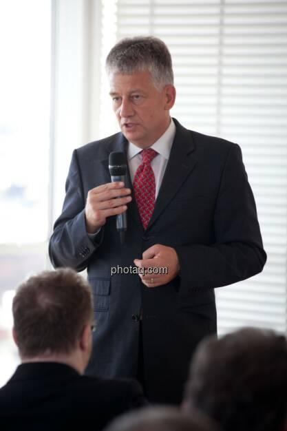 Tjark Schütte (Vice President IR, Deutsche Post), © Michaela Mejta (04.07.2017)