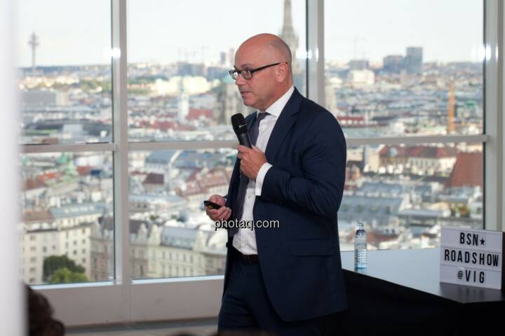 Ulrich Brockmann, Hauptabteilungsleiter Finanzen/IR bei der Fielmann AG