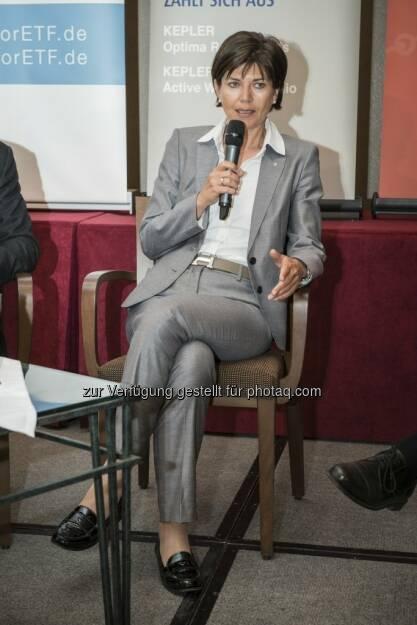 Michaela Keplinger-Mitterlehner beim Börseprofi 2013, © zur Verfügung gestellt von bankdirekt.at (21.05.2013)