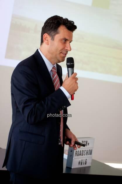 Josko Radeljic, Leiter Investor Relations, BayWa AG, © Michaela Mejta (04.07.2017)