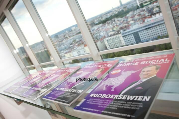 Börse Social Magazine, Cover