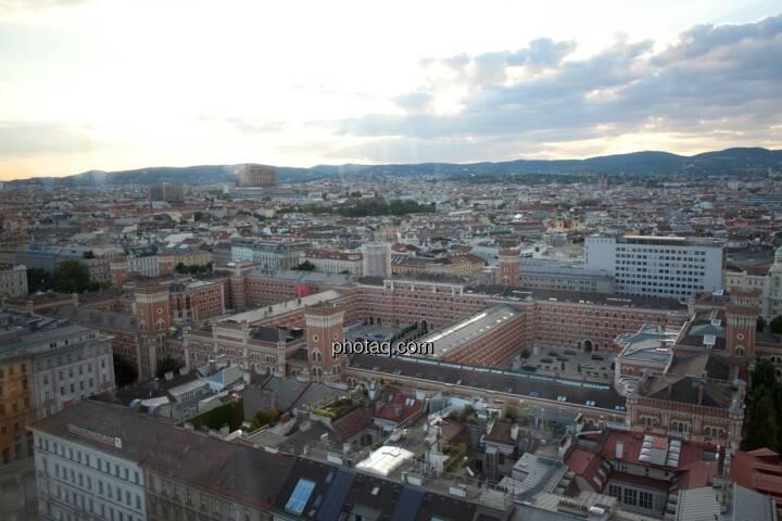 Wien, Häuser, Ausblick