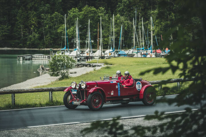 Lech Zürs Tourismus GmbH: Arlberg Classic Car Rally 2017, Oldtimer; Fotograf: Christoph Schöch Photography GmbH