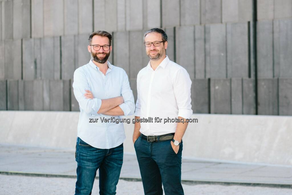 Martin Brunthaler, Alexander Igelsböck (beide Adverity) - aws Gründerfonds: Millioneninvestment in Adverity für Cloud-basiertes Marketingtool (Bild: Carina Brunthaler/Adverity GmbH), © Aussendung (06.07.2017)