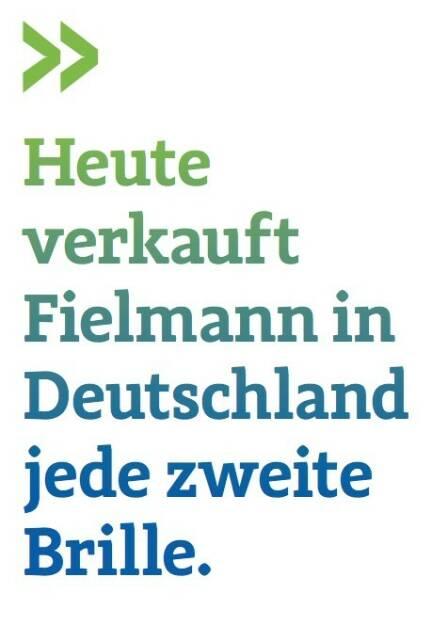 Heute verkauft Fielmann in Deutschland jede zweite Brille. (Ulrich Brockmann, Fielmann, Leiter Investor Relations) (07.07.2017)