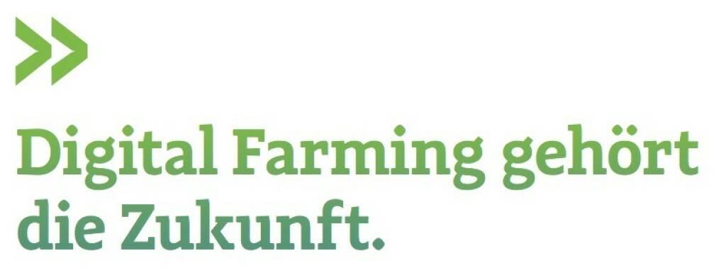 Digital Farming gehört die Zukunft. (Josko Radeljic, BayWa, Leiter Investor Relations) (07.07.2017)