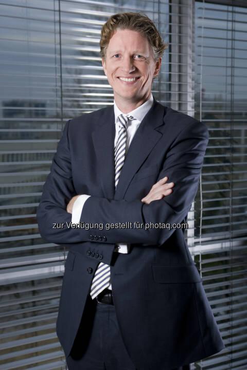 """Ard van der Meij ist neuer """"Country President"""" von Novartis in Österreich (Bild: Novartis)"""